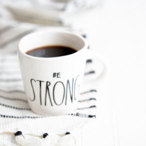 strengthening hope, be strong