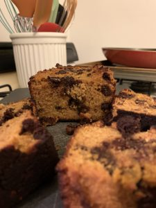 cinnamon pumpkin chocolate chip bread